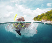 Diving — Stock Photo