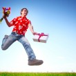 Young happy man — Stock Photo #8149687