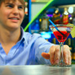 Young bartender — Stock Photo #8153564
