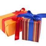 Box gift — Stock Photo #35805993