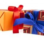 Box gift — Stock Photo #35806483