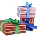 Box gift — Stock Photo #35808863