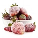 Frozen strawberry — Stock Photo #35809197