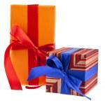 Box gift — Stock Photo #35809779