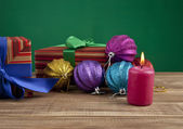 Christmas still life — Stock Photo