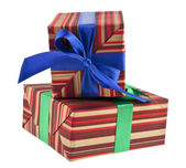 Box gift — Stock Photo