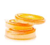 氷のオレンジ — ストック写真
