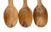 Drewniane łyżki — Zdjęcie stockowe