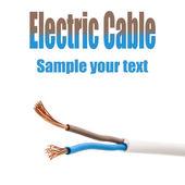 Elektrický kabel — Stock fotografie