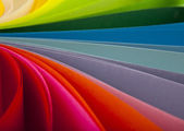 Coloured paper — Stock Photo