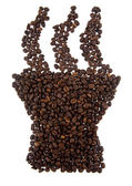 Grains of coffee — Stock Photo