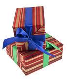 Box gift — Stock Photo