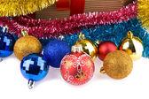 Christmas decorations — Stok fotoğraf