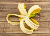 Skin of banana — Stock Photo