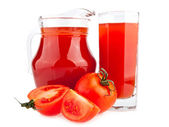 Tomates et jus — Photo