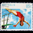 Postage stamp — Stock Photo #35918797