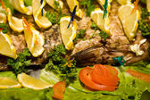 Plato de pescado — Foto de Stock