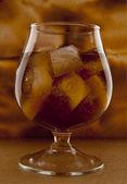 Sklo s alkoholem — Stock fotografie