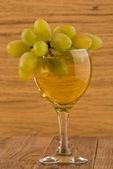 Glasse of wine — Stock Photo