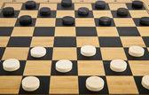 Boardgame checkers — Stock Photo