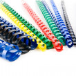 Stock Photo: Coloured springs