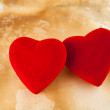 Stock Photo: Two hearts