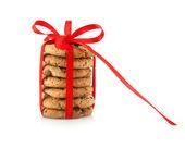 Domácí pečivo sušenky — Stock fotografie