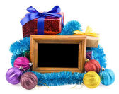 Gifts and photo — Foto Stock
