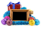 Gifts and photo — Foto de Stock