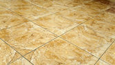 Glazed tile on the floor — Stok fotoğraf