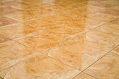 Glazed tile on the floor — Stock Photo