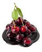 Chocolate cherry — Stock Photo