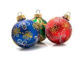 рождество шарики — Стоковое фото