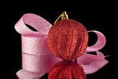リボンとお正月の飾り — ストック写真