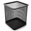 Stock Photo: Metallic basket