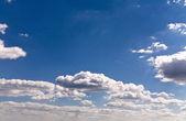 Nubes blancas — Foto de Stock