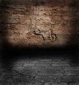 Muur met een oude gips — Stockfoto