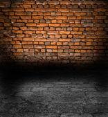 与旧的石膏墙 — 图库照片