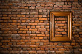 Old wall with a scope — Stock Photo