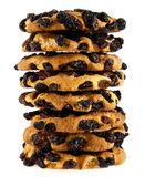 Cookie ile kuru üzüm — Stok fotoğraf