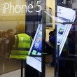 Stock Photo: IPhone 5 launch at the Apple Store on Regent Street in London, UK