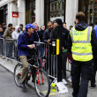 IPhone 5 launch at the Apple Store on Regent Street in London, UK - Stock Photo
