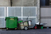 Bins and containers — Stock Photo