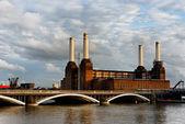 Battersea power station in London — Stock Photo