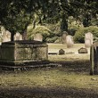 English cemetery — Stock Photo