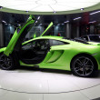 Green McLaren MP4-12C — Stock Photo