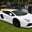 A white Lamborghini Aventador LP700-4 — Stock Photo #15371833
