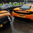 McLaren MP4-12C and Pagani Zonda F — Stock Photo