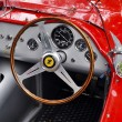 Stock Photo: Vintage ferrari