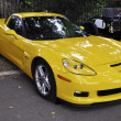 Foto de Stock  : Yellow Chevrolet Corvette